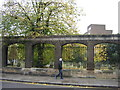 TQ2578 : Brompton Road: wall of West Brompton Cemetery by Christopher Hilton