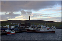 HU4642 : Fishing vessels at Holmsgarth, Lerwick by Mike Pennington