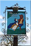 SO8864 : The Fox & Goose (2) - sign, Farmers Way, Westlands, Droitwich Spa by P L Chadwick