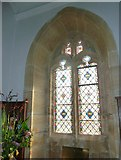 SY7190 : St Michael, Stinsford: window (C) by Basher Eyre