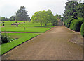 SK3925 : Lawns at Melbourne Hall by Trevor Rickard