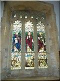 SY7190 : St Michael, Stinsford: window (F) by Basher Eyre