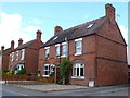SP0743 : Semi Detached Houses by Nigel Mykura