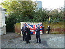 SU6400 : Portsmouth's WW2 memorial: only 67 years late.... by Basher Eyre