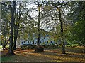 SO1408 : Bedwellty House through the trees, Tredegar by Robin Drayton