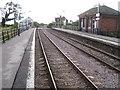 TF4760 : Thorpe Culvert railway station, Lincolnshire by Nigel Thompson