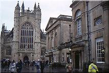 ST7564 : Bath Abbey: west front by Christopher Hilton