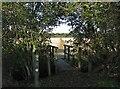 TL3858 : Footpath to Hardwick by John Sutton