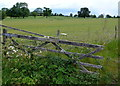 SP1147 : Old Gate to Ullington Hall Farm by Nigel Mykura