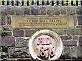 SJ9197 : Red Hall Chapel 1876 datestone by Gerald England