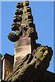 SD4761 : Gargoyles on Lancaster Priory by Karl and Ali