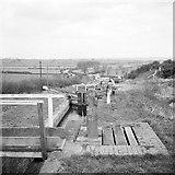 SP6989 : Foxton locks, 1960 by Robin Webster