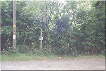 TQ9293 : Footpath, Paglesham Churchend by N Chadwick