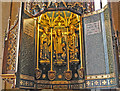 SK9136 : Font cover, St  Wulfram's church, Grantham by J.Hannan-Briggs