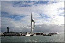 SZ6299 : Spinnaker Tower, Portsmouth, Hampshire by Christine Matthews
