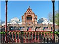 ST3087 : Belle Vue Park Pavilion and Conservatories, Newport by Robin Drayton