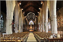 SK9136 : Interior, St Wulfram's church, Grantham by J.Hannan-Briggs