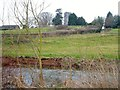 SX9499 : Rewe: church and river by Derek Harper