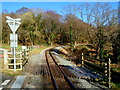 SH5847 : Welsh Highland Railway south of Goat Tunnel, Beddgelert by Jaggery