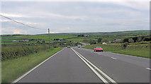 SW7132 : A394 northwest of Reanna Farm by Stuart Logan