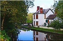 SO8480 : Former Lock Keeper's Cottage, Debdale Lock, near Cookley by P L Chadwick