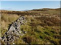 NS4380 : Corner of dry-stone wall by Lairich Rig