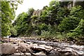 NY8828 : The River Tees at High Force by Steve Daniels