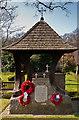 TQ4465 : Memorial Garden, St Paul's Church, Crofton by Ian Capper
