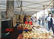 NY2623 : Keswick Market Stall by Gordon Griffiths