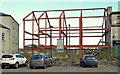 J3652 : Structural steelwork, Ballynahinch by Albert Bridge