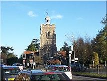 TQ0682 : Church of St John the Baptist, Hillingdon Hill by Ian Harrison