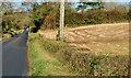 J2661 : The Ravarnet Road near Lisburn by Albert Bridge