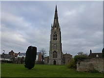 TL2696 : St Mary's Church, Whittlesey by Richard Humphrey