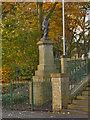 SJ9696 : Victoria Street War Memorial by David Dixon