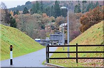 NN9357 : Path to Pitlochry Dam by Jim Barton