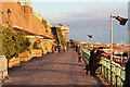 TQ3103 : Promenade above Madeira Drive by Oast House Archive