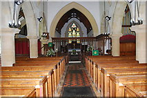 SU3940 : St Peter & Holy Cross Church, Wherwell (4) by Barry Shimmon