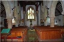 SU3940 : St Peter & Holy Cross Church, Wherwell (6) by Barry Shimmon