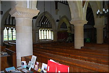 SU3940 : St Peter & Holy Cross Church, Wherwell (7) by Barry Shimmon