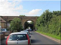 TQ1666 : Railway bridges over Angel Road by Hugh Venables