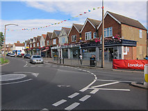 TQ1666 : Shops on Fleece Road, Long Ditton by Hugh Venables