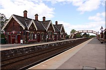 NY6820 : Appleby-in-Westmorland Station by Steve Daniels