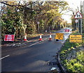 ST3084 : Closure of part of Lighthouse Road, Newport by Jaggery
