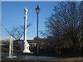 NY4056 : Fountain and Creighton Memorial, Carlisle by Graham Robson