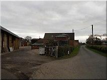 SP4476 : Church Lawford-Burnham's Farm by Ian Rob