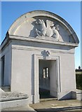 TQ7667 : Southern Pavilion, Chatham Naval Memorial by David Anstiss