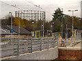 SJ8598 : Metrolink Extension, Holt Town by David Dixon