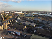 TQ3980 : View SE from the Emirates Air Line by Gareth James