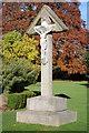 SO8932 : Memorial cross to Elizabeth Smith by Philip Halling