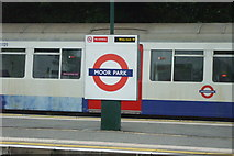 TQ0893 : Moor Park station by Phillip Perry